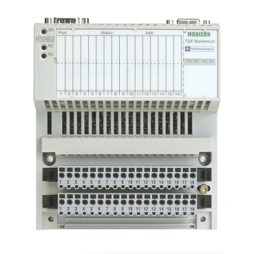 170INT11003 - Modicon Momentum - Interbus communication adaptor - twisted pair, Schneider Electric