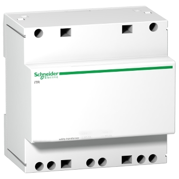 A9A15222 - modular safety transfomer iTR - 230 V 50..60 Hz - output 12..24 V - 63 VA, Schneider Electric