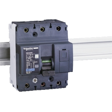 18670 - NG125 - circuit breaker - NG125N - 3P - 100A - D curve, Schneider Electric