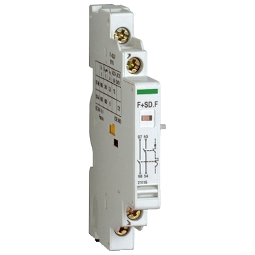 21118 - contact auxiliar - 1 NO + 1 SD NO - pentru P25M - 415 V - 2,2 A, Schneider Electric