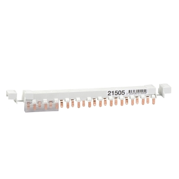 21505 - Acti 9 - comb busbar - 3L+N balanced - 9 mm pitch - 12 modules - 80A, Schneider Electric