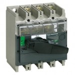 31162 - visible break switch-disconnector Compact INV200 - 200 A - 3 poles, Schneider Electric