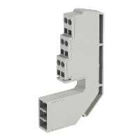 33099 - 6 Wires terminal block - for Masterpact NT/ Compact NS, Schneider Electric