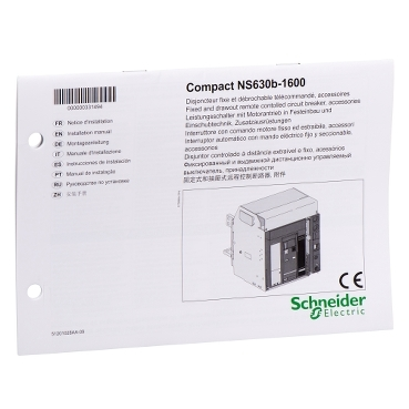 33149 - user manual - for NS630B/1600, Schneider Electric