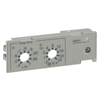 33543 - fisa IEC, setare protectie suprasarcina inf. -intr. automat fix Masterpact NT/NW, Schneider Electric