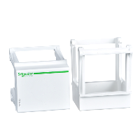 A9A15152 - DIN rail mounting base - universal - for control and signalling unit, Schneider Electric