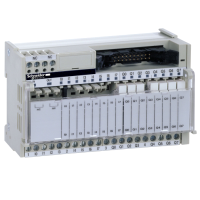 ABE7R16T111 - sub-baza - relee electromecanice sudate ABE7 - 16 canale - releu 5 mm, Schneider Electric