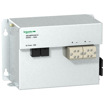 ABL8BPK24A12 - battery - 24 V DC - 75 A - 7 AH - for battery control module, Schneider Electric