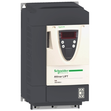ATV71LD14N4Z - variable speed drive ATVLift - 5.5 kW 7.5 Hp - 480 V -EMC filter -with heat sink, Schneider Electric