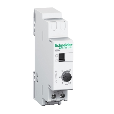 CCT15232 - MINs - temporizator electronic - 0,5..20 min, Schneider Electric