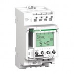 CCT15723 - Acti 9 - IHP+ - 2C digital time switch - 24 hours + 7 days, Schneider Electric