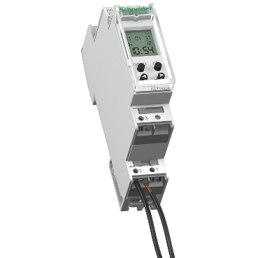 CCT15854 - Acti 9 - IHP - 1C digital time switch - 24 hours + 7 days, Schneider Electric