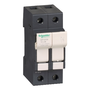 DF101N - TeSyS fuse-disconnector 1P N 32A - fuse size 10 x 38 mm, Schneider Electric