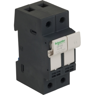 DF102 - TeSyS fuse-disconnector 2P 32A - fuse size 10 x 38 mm, Schneider Electric