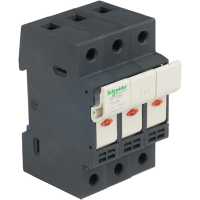 DF103V - TeSyS fuse-disconnector 3P 32A - fuse size 10 x 38 mm - blown fuse indicator, Schneider Electric