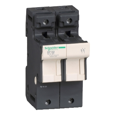 DF142 - TeSyS fuse-disconnector 2P 50A - fuse size 14 x 51 mm, Schneider Electric
