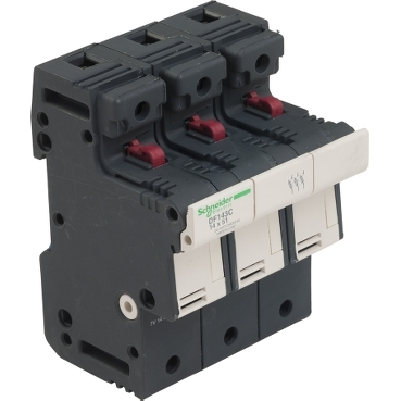 DF143C - TeSyS fuse-disconnector 3P 50A - fuse size 14 x 51 mm, Schneider Electric