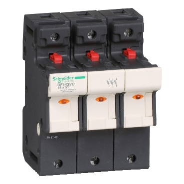 DF143VC - TeSyS fuse-disconnector 3P 50A - fuse size 14 x 51 mm, Schneider Electric