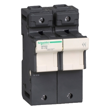 DF222 - TeSyS fuse-disconnector 2P 125A - fuse size 22 x 58 mm, Schneider Electric