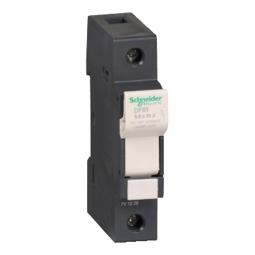 DF81 - TeSyS fuse-disconnector 1P 25A - fuse size 8.5 x 31.5 mm, Schneider Electric