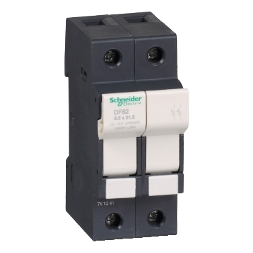 DF82 - TeSyS fuse-disconnector 2P 25A - fuse size 8.5 x 31.5 mm, Schneider Electric