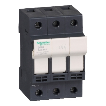 DF83 - TeSyS fuse-disconnector 3P 25A - fuse size 8.5 x 31.5 mm, Schneider Electric