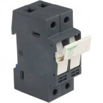 DFCC2 - TeSyS fuse-disconnector 2P 30A - fuse class CC, Schneider Electric