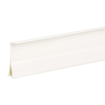 ETK100092E - Ultra - cable shelf - 101/151 x 50 mm - PVC - white, Schneider Electric (multiplu comanda: 32 buc)