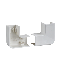 ETK10140E - Ultra - bend 90? - 101 x 34/50 mm - ABS - white, Schneider Electric (multiplu comanda: 5 buc)