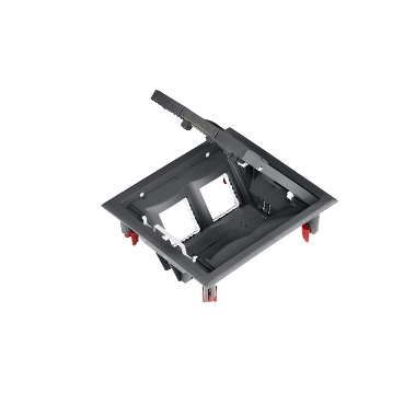 ETK44108 - Ultra - floor outlet box - 4 modules, Schneider Electric