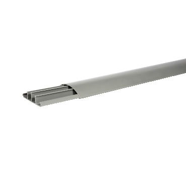 ETK77019 - Ultra - on-floor trunking - 77 x 19 mm - PVC - 2 m, Schneider Electric (multiplu comanda: 40 buc)