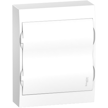 EZ9E212P2S - Easy9 - surface enclosure 24 modules - plain door - with E/N term.blocks, Schneider Electric