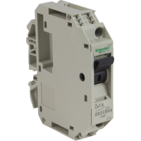 GB2CB06 - TeSys GB2 - thermal-magnetic circuit breaker - 1P - 1 A - Id = 14 A , Schneider Electric