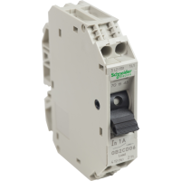 GB2CD06 - TeSys GB2 - thermal-magnetic circuit breaker - 1P + N - 1 A - Id = 14 A , Schneider Electric