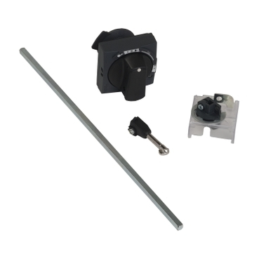 GV2APN01 - TeSys GV2 - rotary handle kit - IP54 - black - for GV2L & GV2P, Schneider Electric