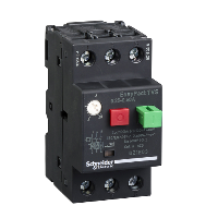GZ1E03 - motor circuit breaker GZ1 - 3 poles 3d - 0.25..0.40A - thermomagnetic trip unit, Schneider Electric