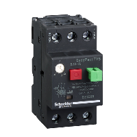 GZ1E05 - motor circuit breaker GZ1 - 3 poles 3d - 0.63..1A - thermomagnetic trip unit, Schneider Electric