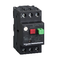 GZ1E07 - motor circuit breaker GZ1 - 3 poles 3d - 1.6..2.5A - thermomagnetic trip unit, Schneider Electric