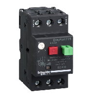GZ1E10 - motor circuit breaker GZ1 - 3 poles 3d - 4..6.3A - thermomagnetic trip unit, Schneider Electric
