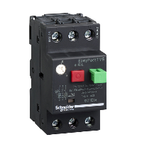 GZ1E14 - motor circuit breaker GZ1 - 3 poles 3d - 6..10A - thermomagnetic trip unit, Schneider Electric