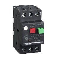 GZ1E20 - motor circuit breaker GZ1 - 3 poles 3d - 13..18A - thermomagnetic trip unit, Schneider Electric