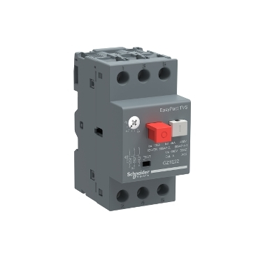GZ1E22 - motor circuit breaker GZ1 - 3 poles 3d - 20..25A - thermomagnetic trip unit, Schneider Electric