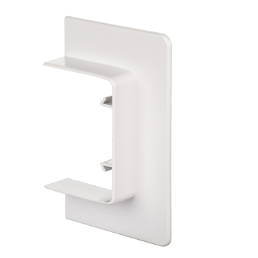 ISM10105P - OptiLine 45 - wall/ceiling frame - 75 x 55 mm - PC/ABS - polar white, Schneider Electric