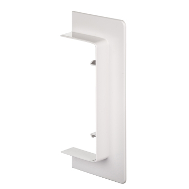 ISM10305P - OptiLine 45 - wall/ceiling frame - 140 x 55 mm - PC/ABS - polar white, Schneider Electric