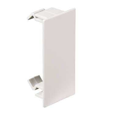 ISM10903P - OptiLine 45 - joint cover piece for front cover - PC/ABS - polar white, Schneider Electric
