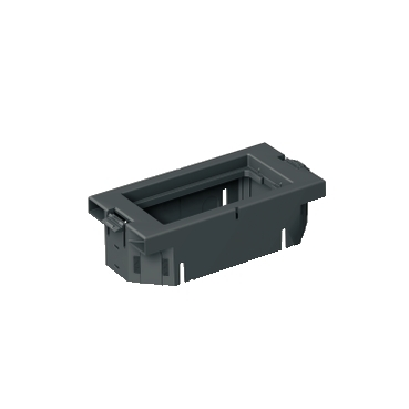 ISM50809N - Optiline 45 - mounting frame for 1-2 Altira outlets, Schneider Electric