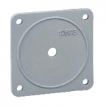 KZ65 - IP 65 seal for 45 x 45 mm front plate and front mounting cam switch - set of 5, Schneider Electric