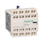 LA1KN403 - TeSys K - Auxiliary contact block - 4 NO - spring terminals, Schneider Electric