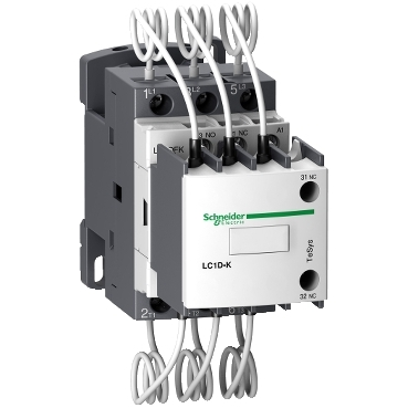 LC1DFKP7 - contactor TeSys LC1-DF 12.5 kVAr - coil 230 V AC, Schneider Electric