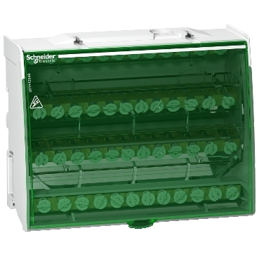 LGY412548 - Linergy DS - screw distribution block 4P - 125A - 48 holes, Schneider Electric